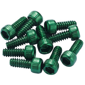 Reverse US Pedal Pin Set for Escape Pro/Black One Alu, green